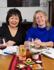 Annabel Jackson and Linda Chia