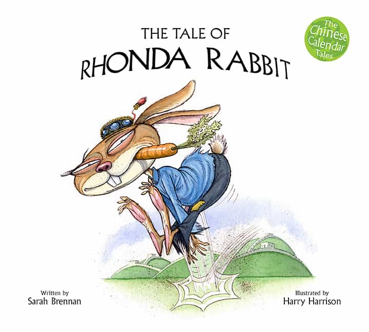 Book cover image: The Tale of Rhonda Rabbit